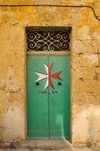 Maltese door — Stock Photo
