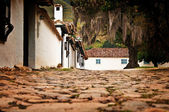 Street Level Villa de Leyva — Stock Photo