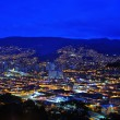 Medellin, Colombia at Night — Stock Photo