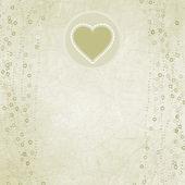 Kalp ile sevgililer günü kartı. eps 8 — Stok Vektör