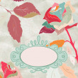 Royalty-Free Stock Imagen vectorial: Vintage rose floral card (not auto-traced). EPS 8