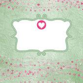 Valentine karty z symbolu zastępczego. eps 8 — Wektor stockowy