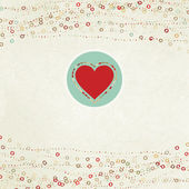 プレース ホルダーでバレンタイン カード。eps 8 — ストックベクタ