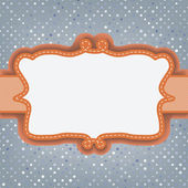 Valentine card with placeholder. EPS 8 — Cтоковый вектор