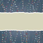 Yer tutucu ile sevgililer günü kartı. eps 8 — Stok Vektör