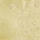 Romantik vintage gül çiçek. Eps 8 — Stok Vektör