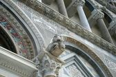 Photo of a detail of Baptistry of Pisa — Stock Photo