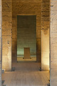 The view inside the Temple of Isis at Philae Island.(Egypt) — Stock Photo