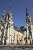 Saint Wenceslas Cathedral in Olomouc (Czech Republic) — Stock Photo