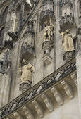 Detailed view of Cathedral in Olomouc — Stock Photo