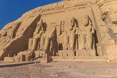 Abu Simbel Temple of King Ramses II ( Egypt) — Stock Photo