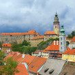 View of the Cesky Krumlov - Stock Photo