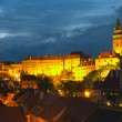 Stock Photo: View of the Cesky Krumlov (Czech Republic)
