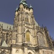 St. Vitus gothic cathedral (Prague, Czech Republic) — Stock Photo