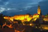 View of the Cesky Krumlov (Czech Republic) — Foto de Stock