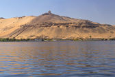Tombs of the Nobles (Aswan, Egypt ) — Stock Photo