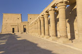 He Temple of Isis at Philae island. ( Egypt) — Foto de Stock