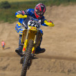Stock Photo: Motocross rider