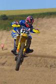 Motocross rider — Foto Stock