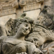 Detailed view of the original Baroque sculpture — Stock Photo