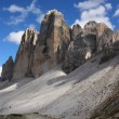 Dolomiti-Tre Cime di Lavaredo - Stock Photo