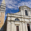 Church of S. Eufemia in the Old Town of Rovinj — Stock fotografie