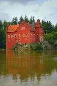 O estado vermelho chateau cervena lhota — Fotografia Stock