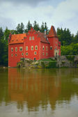 The red State Chateau Cervena Lhota — Stockfoto