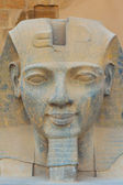 The sculpture of the King Ramses II (Egypt) — Foto Stock