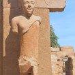A stone statue in the Karnak temple (Luxor, Egypt) — Stock Photo #9671201