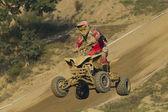Qaud motorbike race — Stock Photo