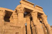 Temple of Kom Ombo in sunset light (Kom Ombo, Egypt ) — Foto Stock