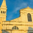 Church of St. Euphemia in Rovinj ( Croatia) — Stock Photo