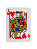 Playing card (jack) — Stock Photo