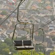 A ski lift chair - Stock Photo