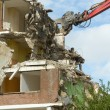 Demolishing a block of flats - ストック写真
