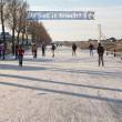 Iceskating the Elfstedentocht — Stock Photo #9414848