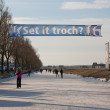 Iceskating the Elfstedentocht — Photo