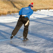 iceskating the elfstedentocht — Stock Photo #9414873
