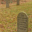 Stock Photo: Old jewish graveyard