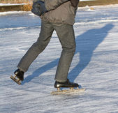An ice skater — Stock Photo