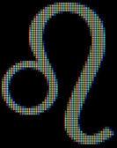 Close-up do símbolo leo — Foto Stock