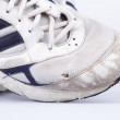 Stock Photo: Classic worn sports shoes