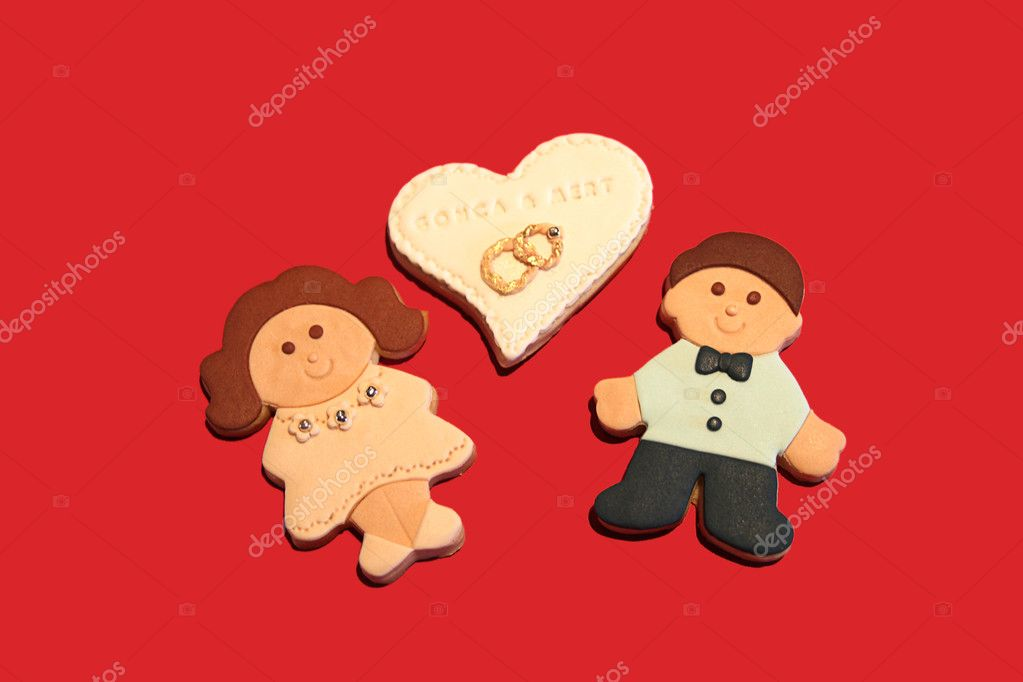 Love and cookies — Stock Photo #9571117