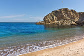 Mediterranean sea shore — Foto Stock