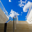 Stock Photo: Steps towards blue sky