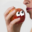 The shameful apple — Stock Photo