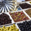 Weekly market olives shop — Stock Photo #9998282