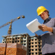 Construction engineer - Stockfoto