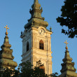 Orthodox Church with three Towers — Stock Photo #9418797